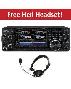 ICOM IC-7610  **With FREE Heil PMS-IC Headset**