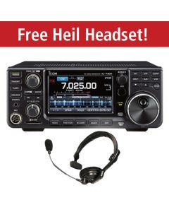 ICOM IC-7300  **With FREE Heil PMS-IC Headset**