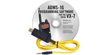 VX-7 Programming software with USB-57B