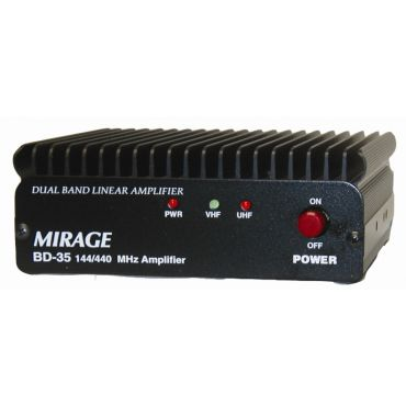 Mirage BD-35 DUAL BAND 144/440 HT AMPLIFIER, 45/35W OUT