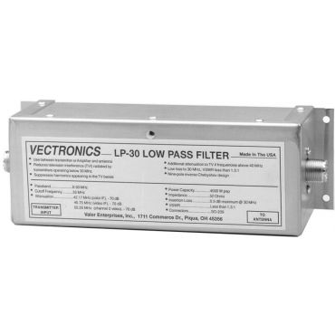 Vectronics LP-30 LOW PASS FILTER, 1500W