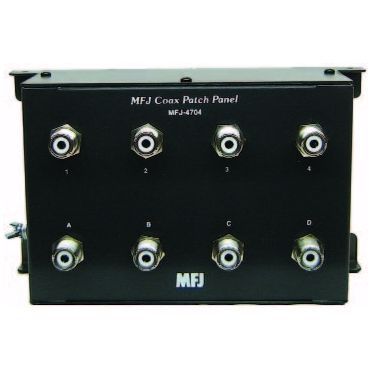 MFJ-4704 COAX PATCH PANEL, 4 POSITIONS