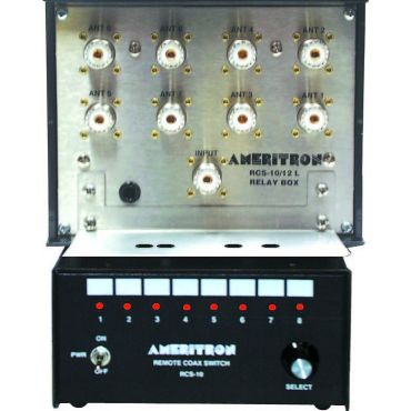 Ameritron RCS-10 ANTENNA SWITCH, 8 POSITIONS, REMOTE