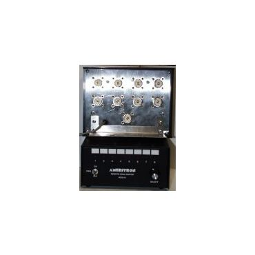 Ameritron RCS-10LX ANTENNA SWITCH, 8-P, LIGHTING PROTECTED, 240V
