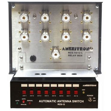 Ameritron RCS-12L AUTOMATIC ANTENNA SWITCH , CONTROLLER COMBO, LIGHTNING PROTECTED