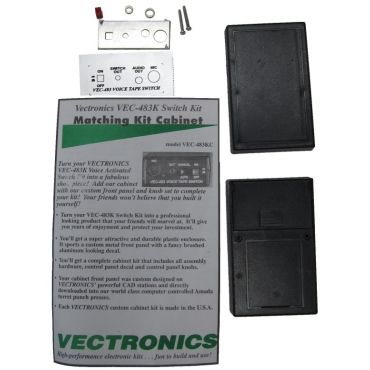 Vectronics VEC-483K KIT, VOICE ACTIVIATED TAPE RECORDER CONTROL