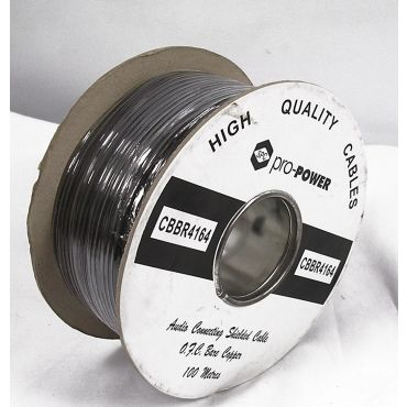 Shielded 3mm Audio Cable 100m drum