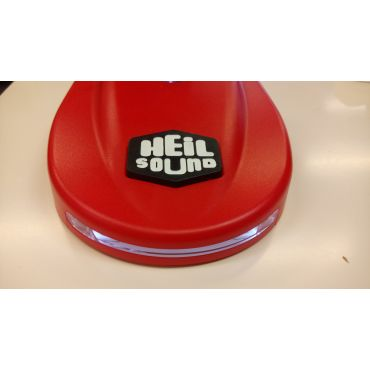 Heil Red Light Up Microphone Base With PTT LB-1R