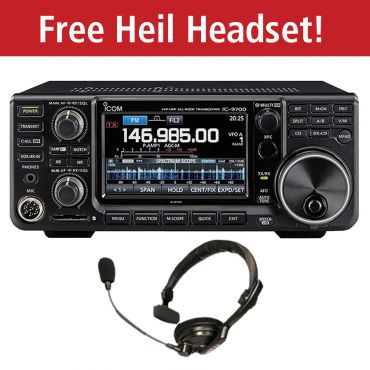 ICOM IC-9700   **With FREE Heil PMS-IC Headset**
