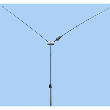 MFJ-2289 PORTABLE DIPOLE ANTENNA,  Mast Not Included