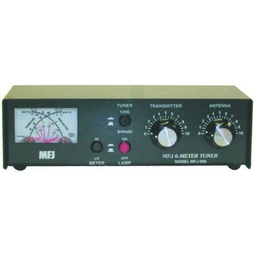 MFJ-906 6-M TUNER WITH /WTTMTR/50-54 MHZ