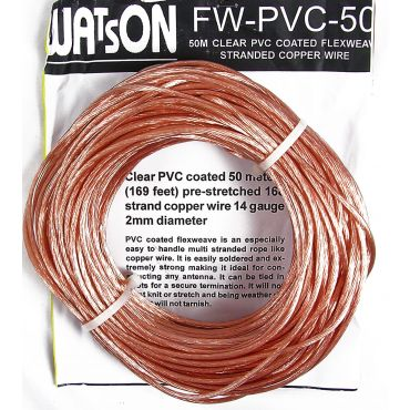 Watson PVC Covered FLEXWEAVE Antenna Wire