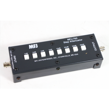 MFJ-762 Stepped Attenuator 1 - 81dB in 1dB steps (Not for Transmitters).