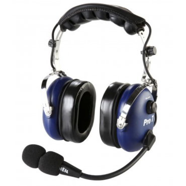 Heil Pro-7 For ICOM Radios - Blue - Professional Boom Mic Headset