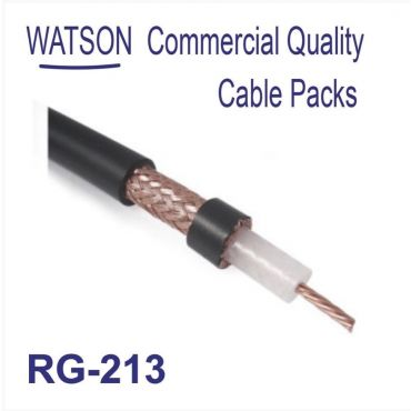 Cable Pack RG-213 Coax 10m Length