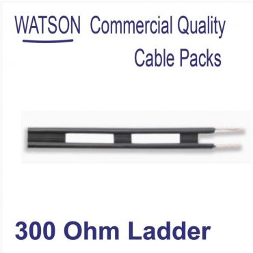 Cable Pack 50m of 300 Ohm Balanced Line