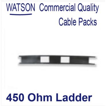 Cable Pack 50m of 450 Ohm Balanced Line