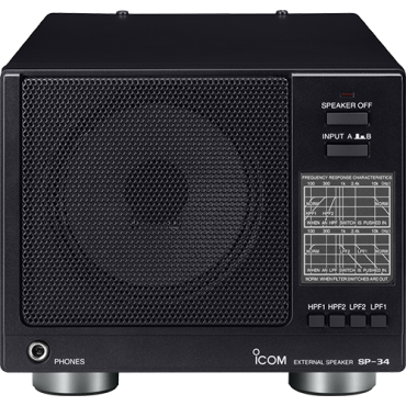 SP-34 Large Icom Base Station Speaker