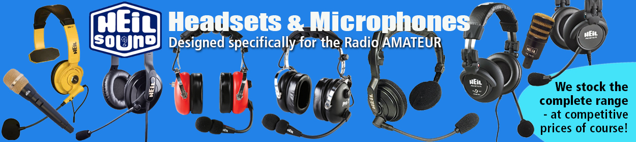 Heil Headsets and Mics